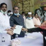 টাঙ্গাইলে সরকারী বিশেষ বরাদ্দকৃত প্রতিবন্ধী ভাতা বিতরন